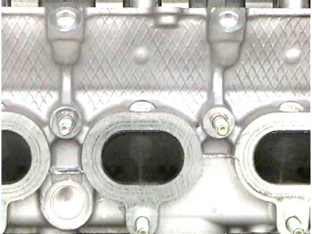 Intake Ports on the 1999 Miata Cylinder Head