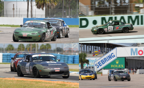 5X Racing Spec Miata Race Team