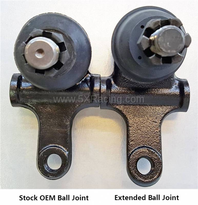 Extended Lower Ball Joints For 1990 2005 Mazda Miata