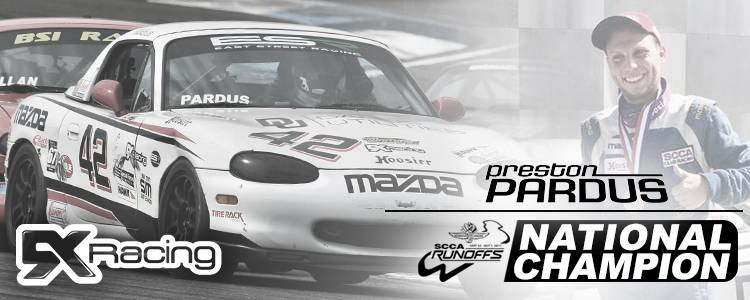 2017 SCCA Spec Miata National Champion Preston Pardus