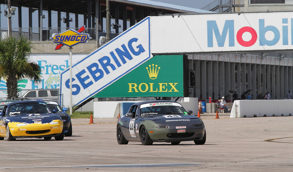 photo gallery 1995 spec miata rick adamczyk at sebring. Black Bedroom Furniture Sets. Home Design Ideas