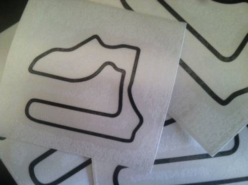 Decal Shop - Track Map Decals
