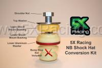 5X Racing - 5X Racing NB Shock Hat on NA Shock Adapter Kit