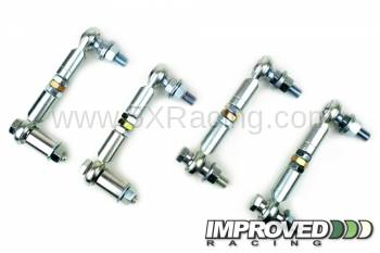 Impoved Racing - Improved Racing Adjustable Sway Bar End Link Full Kit for 1990-2005 Mazda Miata