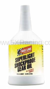 Red Line Synthetic Oil - Red Line Superlight ShockProof Gear Oil - 1 quart