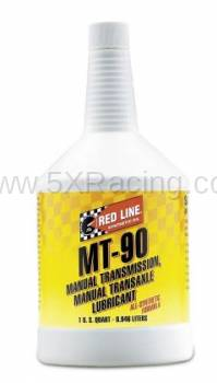 Red Line Synthetic Oil - Red Line MT-90 75W90 GL-4 - 1 quart