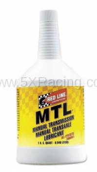 Red Line Synthetic Oil - Red Line MTL 75W80 GL-4 - 1 quart