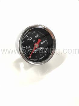 0-100 PSI Glass Face Fuel Pressure Gauge