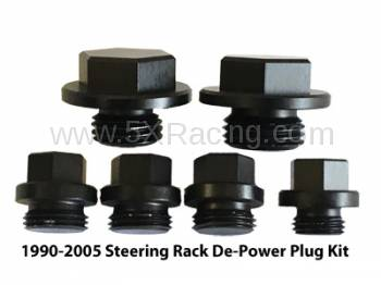 MiataCage - Steering Rack De-Power Plug kit for 1994-1997 Mazda Miata