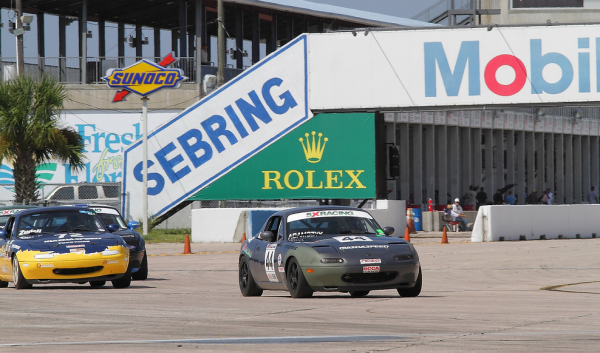 Rick Adamczyk at Sebring International Raceway