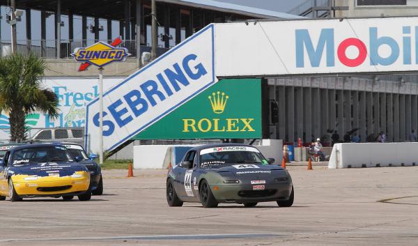 Rick Adamczyk at Sebring International Raceway