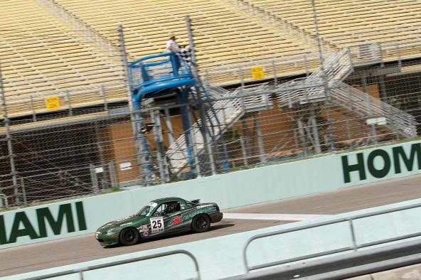 John Adamczyk at Homestead-Miami Speedway