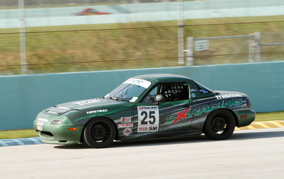 John Adamczyk at Homestead-Miami Speedway