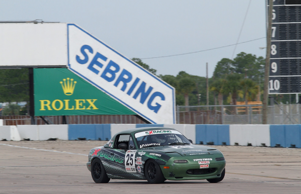 John Adamczyk at Sebring