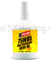 Red Line Synthetic Oil - Red Line 75W85 GL-5 Gear Oil - 1 quart