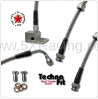 Techna-Fit - Techna-Fit Stainless Steel Brake Lines for Mazda Miata - Image 2