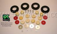Miata Suspension - Miata Suspension Bushings and Bump Stops - 5X Racing - 5X Racing Coilover Shock Mount System for Mazda Miata