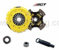 Miata Drivetrain - Miata Clutch Kits - ACT Clutch - ACT HD 4-Puck Sprung Hub Clutch Kit for 1994-2005 Mazda Miata
