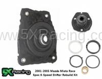 Miata Drivetrain - Miata Shifter Rebuild Kits and Bushings - 5X Racing - 5X Racing Shifter Rebuild Kits for 2002-2005 6-Speed Mazda Miata