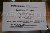 Manley H Beam Rods for Miata