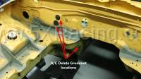 5X Racing Miata A/C Delete Kit