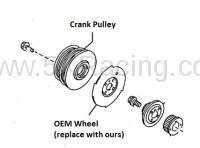 OEM Mazda Crank Trigger Wheel