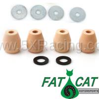 NA Miata Suspension and Steering - NA Miata Bump Stops and Shock Mounting Hardware - Fat Cat Motorsports - Fat Cat Motorsports Comfort Bump Stop Kits for 90-97 Mazda Miata