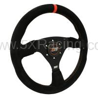 Miata Interior - Steering Wheels - MPI  - MPI F-13-A Suede Race Steering Wheel