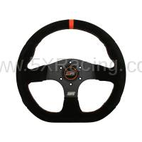 Spec Miata Parts - MPI  - MPI GT-13-A D-Shaped Suede Steering Wheel