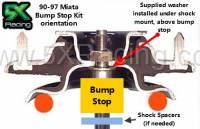 miata shock mount washers