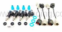 NA/NB Miata Aftermarket and Race Parts - Miata Fuel and Ignition  - Flow Force Injectors - Flow Force Miata 640cc PNP Fuel Injector Kit