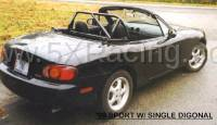 Miata 1990-2005 NA/NB - Miata Roll Bars and Braces - Hard Dog Fabrication - Hard Dog M2 Sport Miata Roll Bar