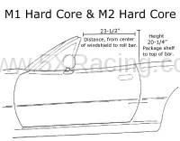 Hard Dog Hard Core Roll Bar dimensions
