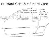 Hard Dog Hard Core Roll Bar dimensions