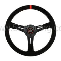 "MPI  - MPI 13.75"" Deep Dish Suede Steering Wheel"