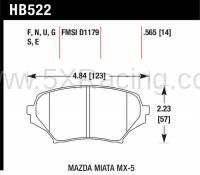 Hawk DTC-60 Front Brake Pads for Mazda MX-5