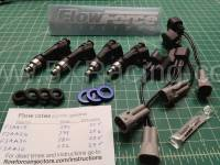 NA Miata Engine and Performance - NA Miata Fuel System - Flow Force Injectors - Flow Force 380cc Injector Kit for Mazda Miata