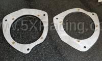 Paco Motorsports - Aluminum Door Speaker Adapter Plates for Mazda MX-5 ND