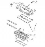 Mazda Miata NA OEM Parts - NA Miata Engine and Accessory Drive - NA Miata Cylinder Head and Valvetrain