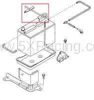 NA01-56-03XA Miata Battery Hold Down Bracket