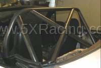 1990-1997 NA Miata Aftermarket Parts - NA Miata Roll Bars and Braces - Hard Dog Fabrication - Hard Dog M1 Hard Core Hardtop X-Brace Diagonal Miata Roll Bar
