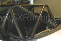 1990-1997 NA Miata Aftermarket Parts - NA Miata Roll Bars and Braces - Hard Dog Fabrication - Hard Dog M1 Sport X-Brace Diagonal Miata Roll Bar
