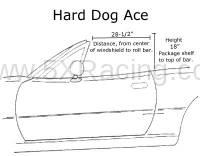 Hard Dog Ace Roll Bar