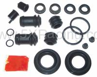 Mazda Miata NB OEM Parts - NB Miata Brake and Wheel Hub - Mazda OEM Parts and Accessories - Mazda OEM Miata Rear Brake Caliper and Boot Rebuild Kit