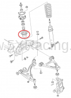 Mazda NC MX-5 Front Shock Boot