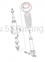 Mazda OEM NC MX-5 Rear Shock Boot