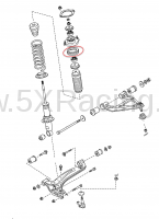 NC10-28-012 front shock sheet rubber