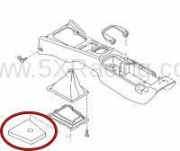 Mazda Miata Shift Boot Insulation Mat