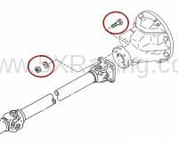 miata driveshaft nuts and bolts