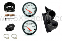 Miata 1990-2005 NA/NB - Miata Interior - 5X Racing - 5X Racing Miata Oil Pressure and Water Temp Gauge Kits